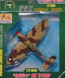 37219 SPITFIRE MK V 2 FIGHTER SQN USAAF/TROPICAL
