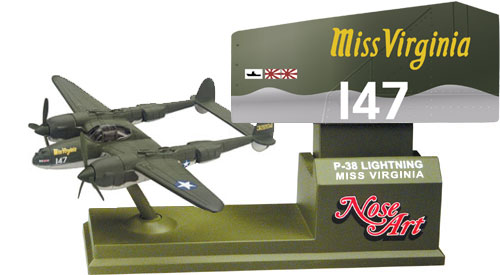 CS90364 P-38 LIGHTNING (MISS VIRGINIA)
