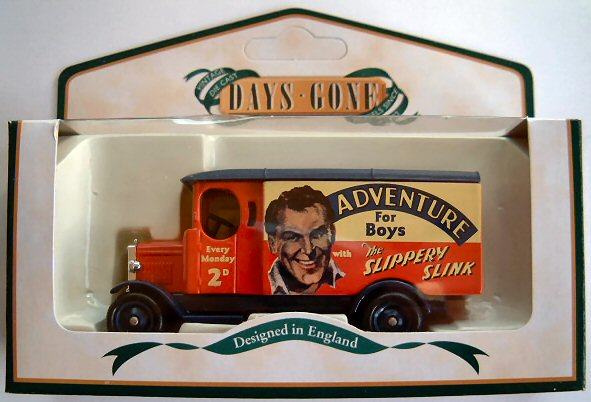 DG043042 15cwt DELIVERY VAN, ADVENTURE COMIC