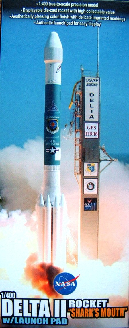 "DR56334 Aerospace Program ULA Delta II Rocket USAF, ""GPS-IIR-16"", Launch November 17th, 2006"