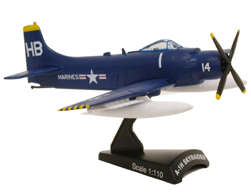 PSP5364C-1 A-1H SKYRAIDER DIVEBOMBER UNITED STATES MARINES