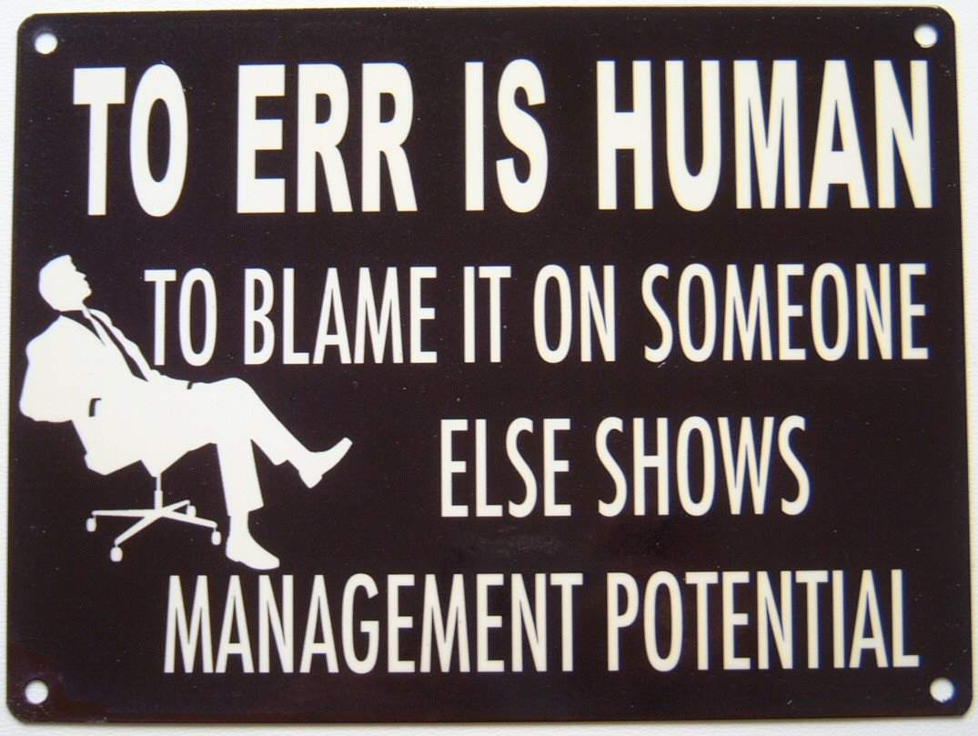 to err is human com to err is human