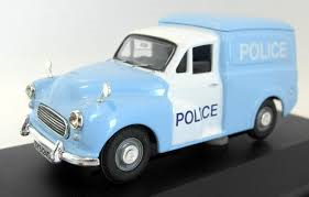 VA01123 MORRIS MINOR VAN  GLASGOW POLICE